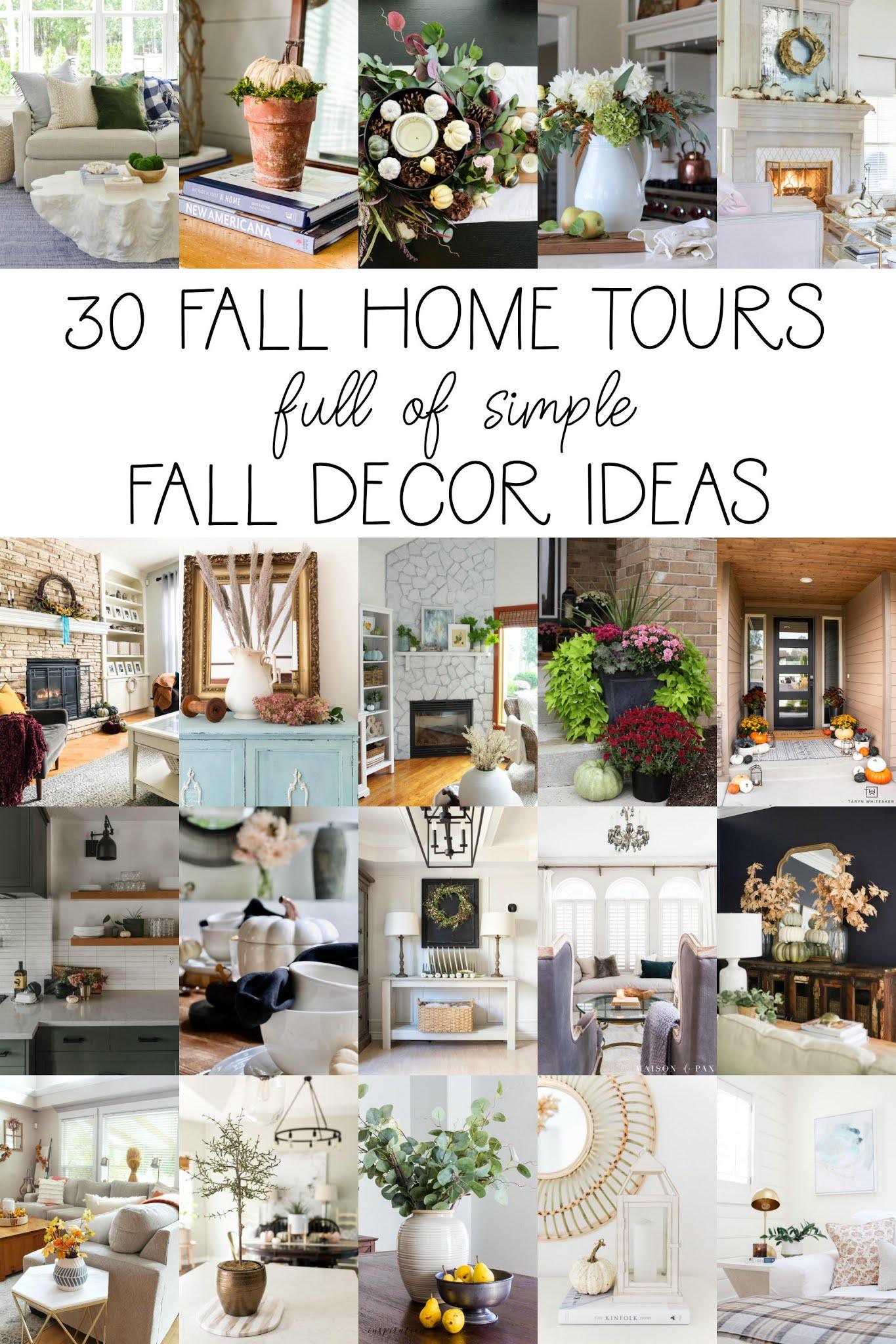 cozy home decor, fall home decor, fall decorating ideas