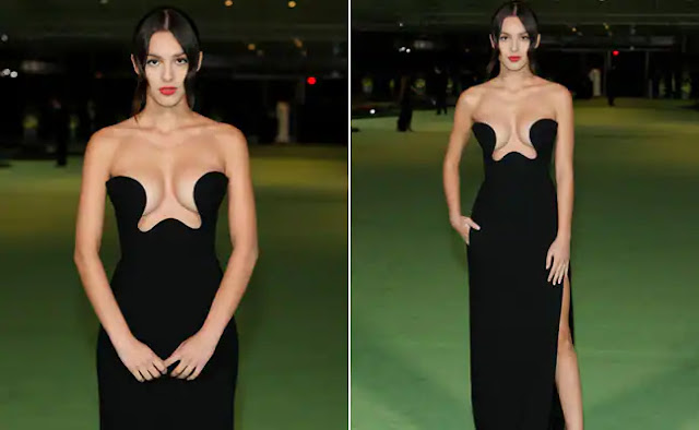 Olivia Rodrigo Sets Internet on Fire After Wearing Black Crop Gown