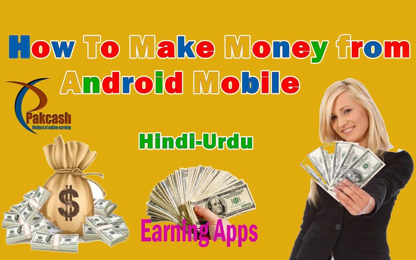 make money with mobile in pakistan