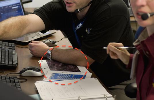 nasa leaks ufo on desk