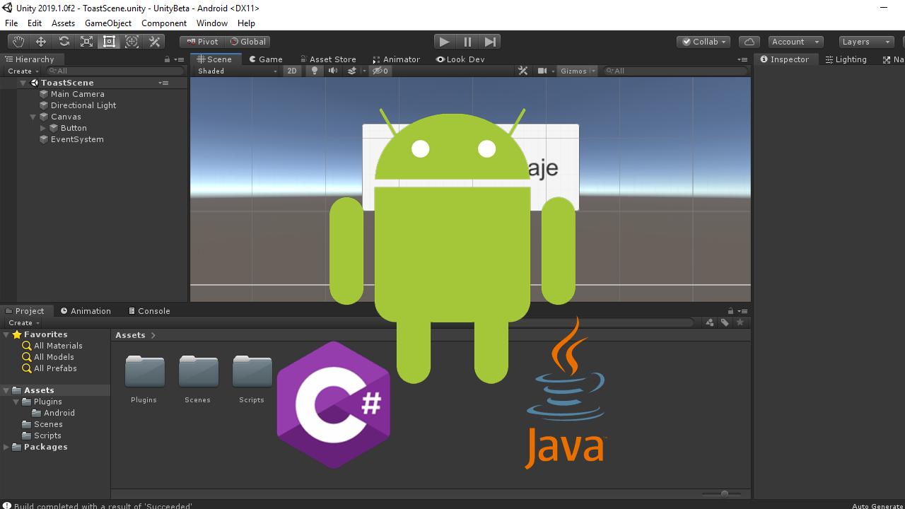 Crear un plugin Android Java para Unity 3D paso a paso