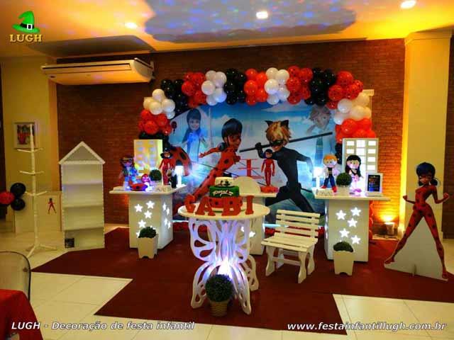 Festa infantil - Decoração festa de aniversário Ladybug - Provençal simples - Festa decorada na Barra RJ (Zona Oeste)