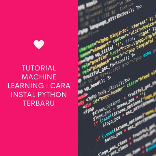 Cara Instal Python Terbaru