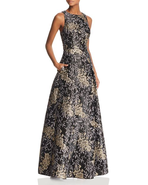 Floral Jacquard Ball Gown - 100% Exclusive