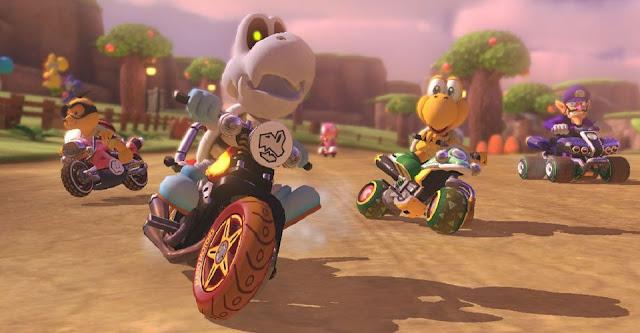 يحتفظ Mario Kart 8 Deluxe سجل المبيعات لهذا العام