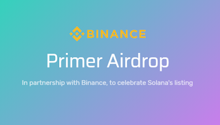 Free Crypto Airdrop $20 SOL Bonus - Binance X Solana