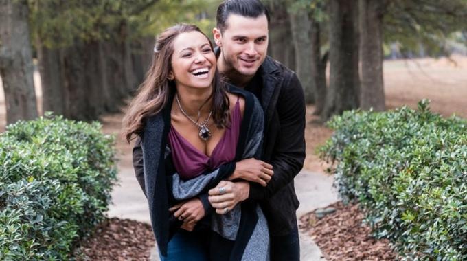 Bonnie y Enzo en The Vampire Diaries