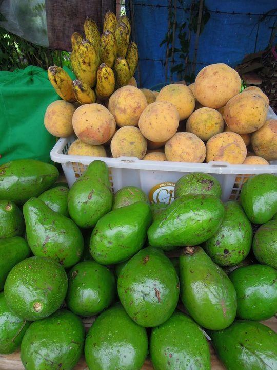 A variety of fruits at Tagaytay