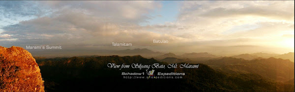 South View from Silyang Bato Mt. Marami - Schadow1 Expeditions