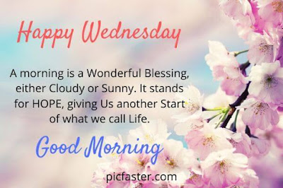 New - Good Morning Happy Wednesday Images With Quotes [2020]