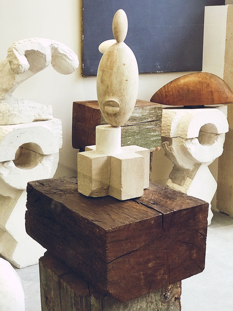 At the Gallery: Atelier Brancusi at Centre Georges Pompidou, Paris, France