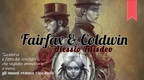 cover fantasy Fairfax & Coldwin con frase del libro