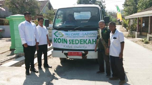 Kekeringan di Jombang Meluas, NU Kirim Bantuan Air Bersih