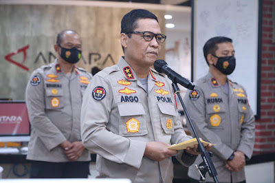 Kepala Divisi Humas Polri Irjen Pol Raden Prabowo Argo Yuwono