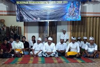 Malam Perenungan Sivaratri, PERADAH dan KMHDI Mengabdi Untuk Masyarakat Lampung Timur
