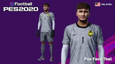 PES 2020 Faces Farizal Marlias by PESFaceThai