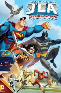 As Aventuras da Liga da Justiça: Armadilha do Tempo – Dublado (2014)