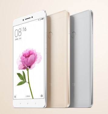 Xiaomi launches Mi Max: 6.44-inch FHD display, Fingerprint scanner and 4850mAh battery