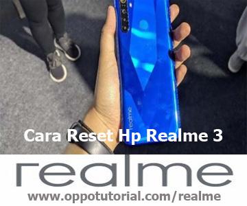 Cara Reset Hp Realme 3