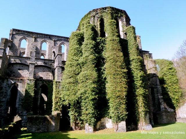 Ruinas de la abadía de Villers-la-ville, Bélgica
