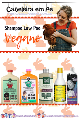 Shampoos liberados para Low Poo (Lola, Boni Natural, Fina Flor e Soul Power) - Cosméticos Veganos Baratos