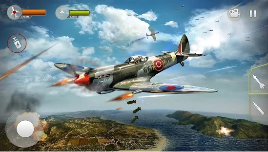 Airplane Fighting WW2 Survival Air Shooting Games 1.3 Mod Apk