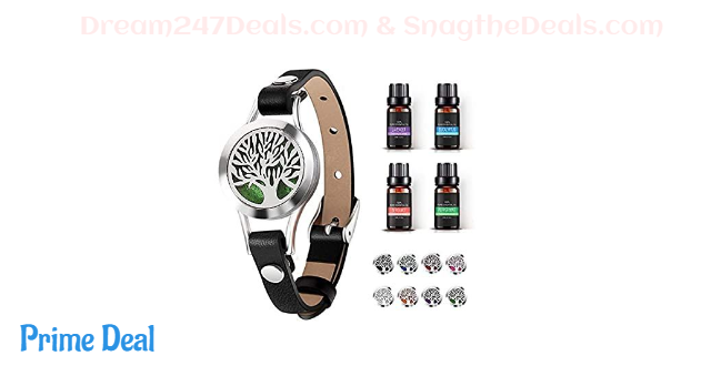 50% OFF Aromatherapy Essential Oil Diffuser Bracelet