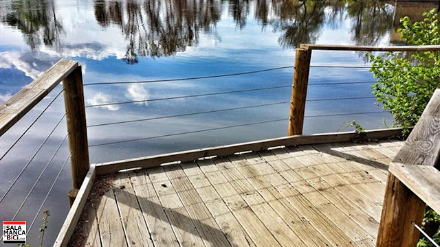 salamanca parque fluvial villamayor bici