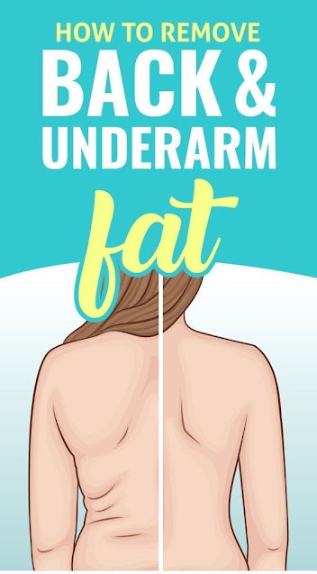 Remove back fat and underarm fat with just 4 workouts