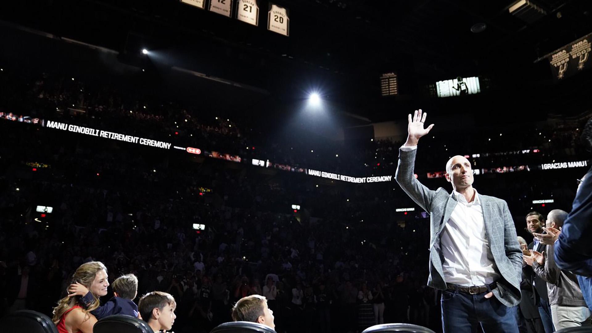 Manu Ginóbili vuelve a San Antonio Spurs