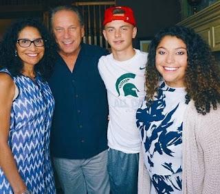 Lupe Marinez Izzo's husband Tom Izzo & their Kids