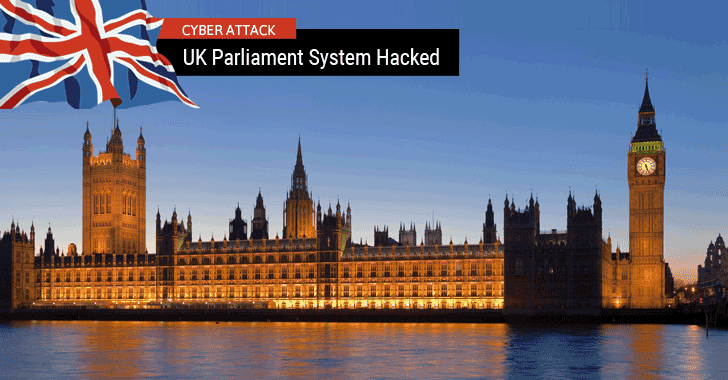 UK Parliament Hit by Cyberattack, Up to 90 MPs' E-mail Accounts Hacked