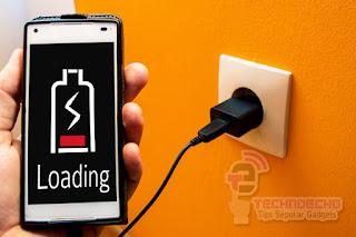 cara memperbaiki baterai hp android ngedrop
