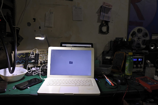 Service macbook mati total di malang
