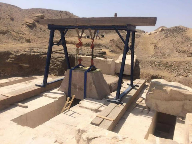 New discoveries at recently unearthed 13th Dynasty Pyramid in Dahshur