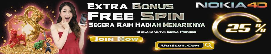 EXTRA BONUS SLOT FREE SPIN ALL PROVIDER