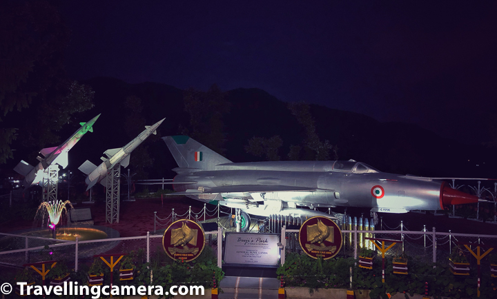 Beeji's park also has a MIG-21 fighter aircraft presented by Air Chief Marshal N.A.K.Brown, former Chief of Air Staff in 2013. From this you can make out that Mr Dhillon had started it much early but formally the park is named as Beeji's park in 2016.  Two surface-to-air Pichora missiles were gifted by Air Chief Marshal Arup Raha, former Chief of Air Staff in 2015 which are installed on one side of this MIG-21.     Related Post - Away from the scorching summer - Over 30 hill stations in Himachal Pradesh that are close to Delhi