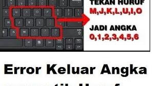 mengatasi keyboard error