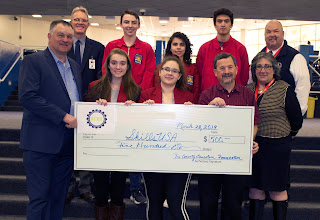 the SkillsUSA club has been awarded $500.00