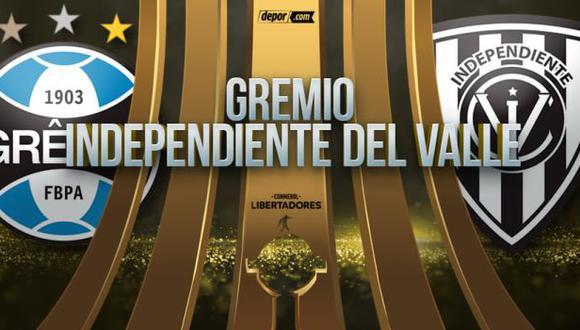 Independiente vs. Gremio EN VIVO por fase 3 de Copa Libertadores