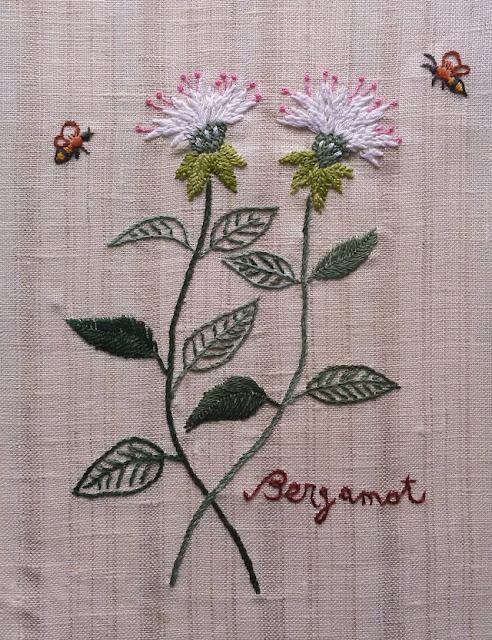 цветочная вышивка