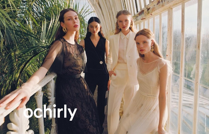 Lorena Maraschi, Polina Oganicheva, Jess PW and He Cong star in Ochirly summer 2019 campaign