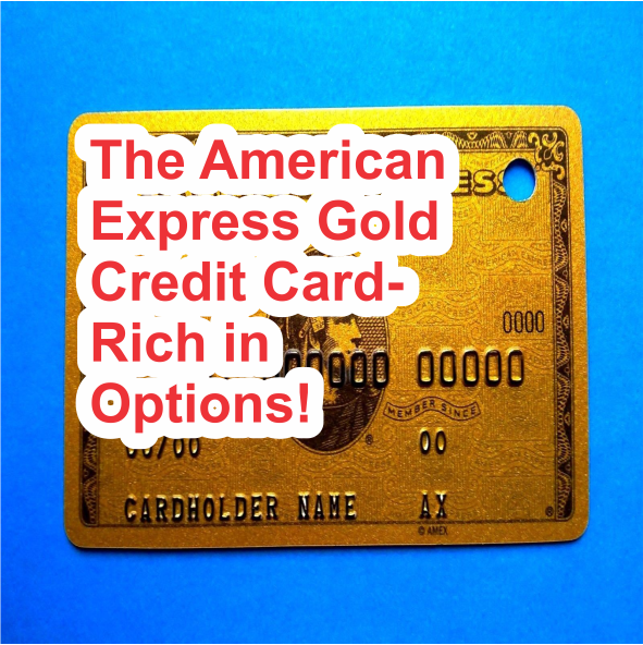American Express Gold Credit Card - Rich in Options!