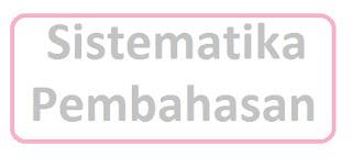 Sistematika Pembahasan Skripsi tesis