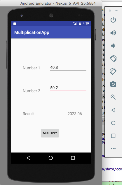Android First App