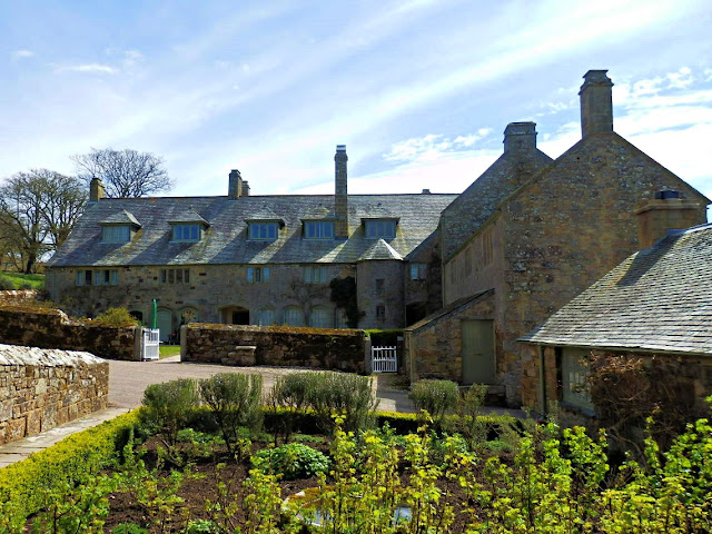 Back of Trerice House, Cornwall