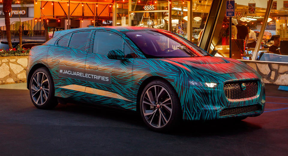 Jaguar completes testing of its electric SUV the I-Pace