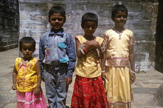 Kids of a South Indian village