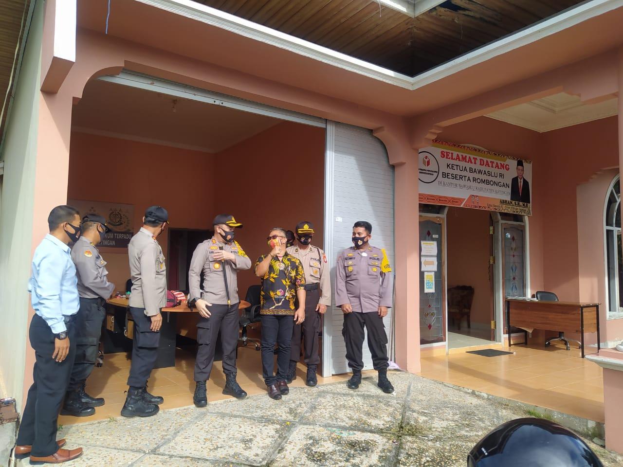 Jelang Pilkada Serentak 2020, Kapolres Silaturahmi ke KPU dan Bawaslu Katingan