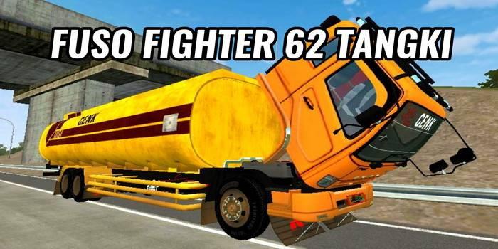 mod bussid fuso fighter tangki cpo